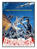 Destroy All Monsters  (AKA 'Kaiju Soshingeki')  1968