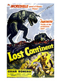 Lost Continent  Lower Right Center: Cesar Romero  1951