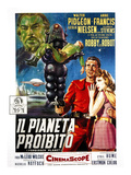 Forbidden Planet  (AKA Il Pianeta Proibito)  Robby the Robot  Leslie Nielsen  Anne Francis  1956