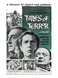 Tales of Terror  L-R: Basil Rathbone  Vincent Price  Peter Lorre  1962