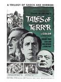Tales of Terror  L-R: Basil Rathbone  Vincent Price  Peter Lorre  1962