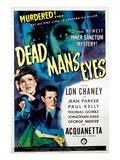 Dead Man's Eyes  1944