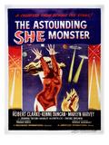 The Astounding She-Monster  1957