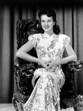 Deanna Durbin Posing in Costume Used in Amazing Mrs Holliday  1943