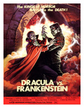 Dracula Vs Frankenstein  From Left: Zandor Vorkov  John Bloom  1971
