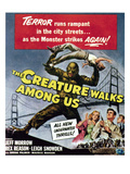 The Creature Walks Among Us  Bottom From Left: Leigh Snowden  Jeff Morrow  Rex Reason  1956