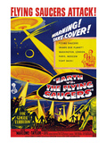 Earth Vs the Flying Saucers  Joan Taylor  Hugh Marlowe  1956
