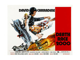 Death Race 2000  From Left: Simone Griffeth  David Carradine  1975