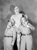 Abbott and Costello Meet the Mummy  Lou Costello  Eddie Parker  Bud Abbott  1955
