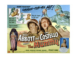 Abbott And Costello Meet the Mummy  Lou Costello  Bud Abbott  1955