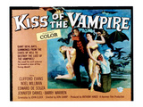 The Kiss of the Vampire  Center: Clifford Evans  1963