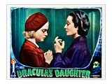 Dracula&#39;s Daughter  From Left: Nan Grey  Gloria Holden  1936