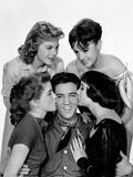 King Creole  Elvis Presley with Dolores Hart  Jan Shepard  Liliane Montevecchi  Carolyn Jones  1958
