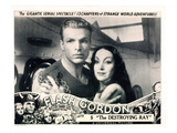 Flash Gordon  Chapter 5: 'The Destroying Ray ' From Left: Buster Crabbe  Priscilla Lawson  1936