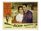 Invasion of the Body Snatchers  From Left  Dana Wynter  Kevin McCarthy  (Also Inset  Left)  1956