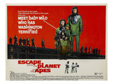 Escape From the Planet of the Apes  L-R: Kim Hunter  Roddy McDowall  1971