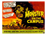 Monster On the Campus  Arthur Franz (Top)  1958