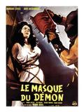 Black Sunday  (AKA Le Masque Du Demon AKA La Maschera Del Demonio)  Left: Barbara Steele  1960