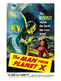 The Man From Planet X  Pat Goldin (As the Title Character)  Margaret Field (Girl On Right)  1951