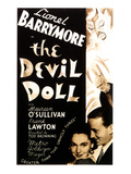 The Devil Doll  Maureen O'Sullivan  Frank Lawton  Lionel Barrymore  1936