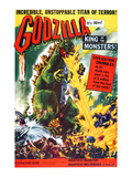 Godzilla  King of the Monsters!  (AKA 'Gojira' Upon Its Initial Release In Japan In 1954)  1956