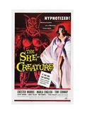 The She-Creature  Paul Blaisdell  Marla English  1956