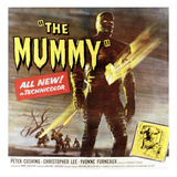 The Mummy  Christopher Lee  1959