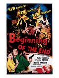 Beginning of the End  Peggie Castle  Peter Graves  1957