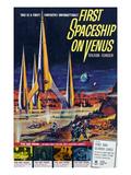 First Spaceship On Venus  1962