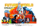 Futureworld  Center  From Left: Peter Fonda  Blythe Danner  1976