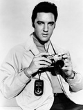 Live a Little  Love a Little  Elvis Presley Poses with His Leica Camera  1968