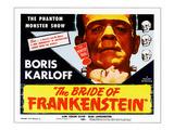 The Bride of Frankenstein  Top: Boris Karloff  Bottom: Elsa Lanchester  1935