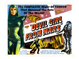 Devil Girl From Mars  Left: Patricia Laffan  1955