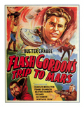 Flash Gordon's Trip to Mars  Top: Buster Crabbe  Bottom Left: Charles Middleton  1938