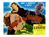 The Return of the Vampire  Nina Foch  Bela Lugosi  Matt Willis  1944