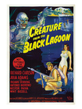 Creature From the Black Lagoon  Bottom From Left: Richard Carlson  Julie Adams  1954