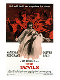 The Devils  Oliver Reed (Back)  Vanessa Redgrave (Front)  1971