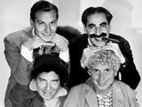 The Marx Brothers  Top Zeppo Marx  Groucho Marx  Bottom Chico Marx  Harpo Marx  ca Early 1930s