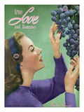 True Love and Romance Vintage Magazine - October 1947 - Kodachrome