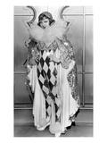 Claudette Colbert in Pierette Costume  1932