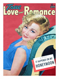 True Love and Romance Vintage Magazine - May 1941 - Marion Martin MGM Star