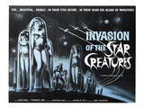 Invasion of the Star Creatures  Jonathan Haze  1962