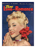 True Love and Romance Vintage Magazine - April 1948 - Kodachrome