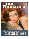 True Romance Vintage Magazine - April 1940 - Cover - Ann Sheridan  Warner Brothers