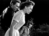 Rebel Without A Cause  Dennis Hopper  Natalie Wood  James Dean  1955
