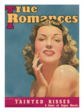 True Romances Vintage Magazine June 1940 Rita Hayworth of Columbia Pictures