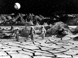 Destination Moon  Astronauts Explore The Lunar Terrain  1950