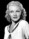 Ginger Rogers  in a Publicity Portrait for RKO  c 1936