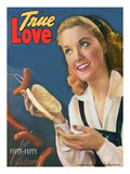 True Love Romance Vintage Magazine - September 1947 - Kodachrome