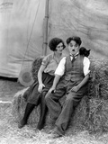 The Circus  Merna Kennedy And Charlie Chaplin  1928